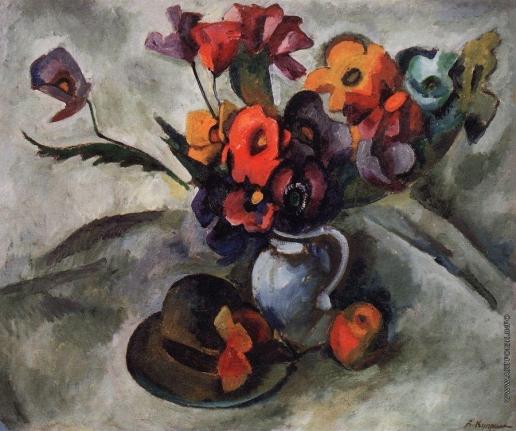 Куприн А. В. Натюрморт со шляпой