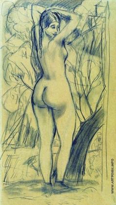 Кустодиев Б. М. Венера