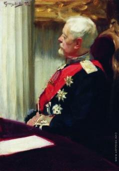Кустодиев Б. М. Генерал от инфантерии Христофор Христофорович Рооп