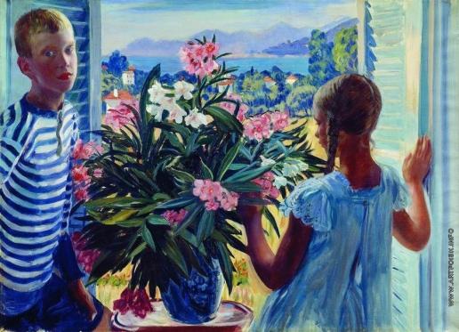 Кустодиев Б. М. Дети художника