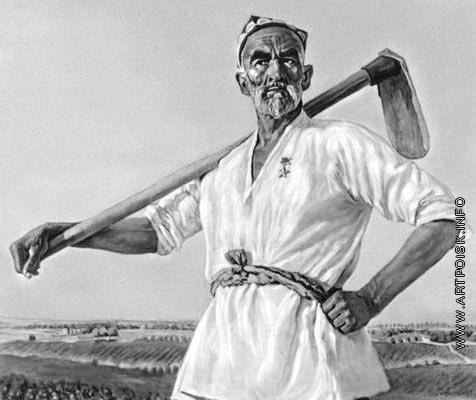 Абдуллаев А. А. Портрет Героя Социалистического Труда Н. Ниязова