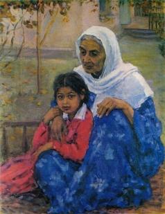 Абдуллаев А. А. Бабушка и внучка