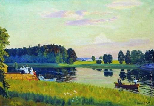Кустодиев Б. М. Конкола (Финляндия)