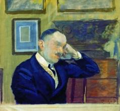 Кустодиев Б. М. Портрет В.Н.Аргутинского-Долгорукова