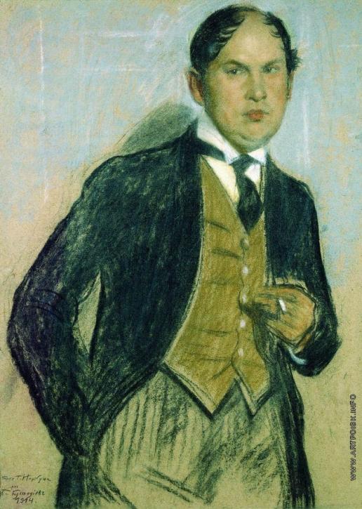 Кустодиев Б. М. Портрет Г.И.Нарбута