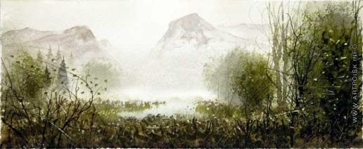 Абдуллин Р. Р. Озерцо в горах