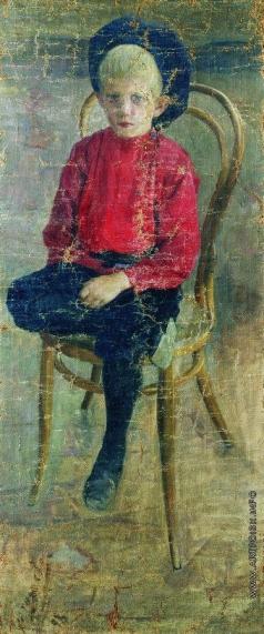 Кустодиев Б. М. Портрет Гурия Николаевича Смирнова, двоюродного брата художника