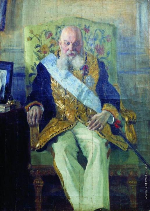 Кустодиев Б. М. Портрет Д.М.Сольского