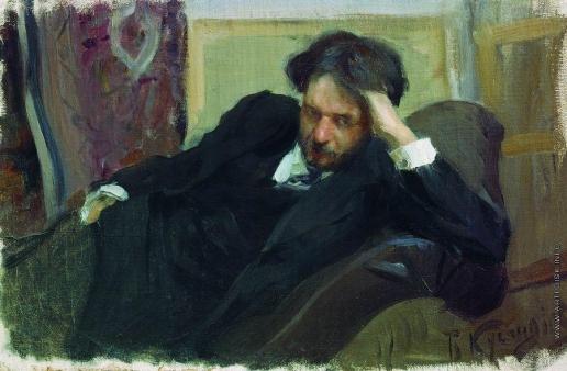 Кустодиев Б. М. Портрет Д.Ф.Богословского