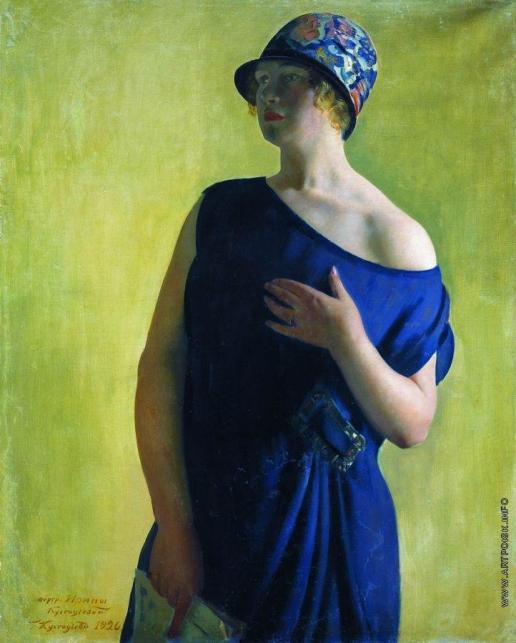 Кустодиев Б. М. Портрет И.Б.Кустодиевой, дочери художника