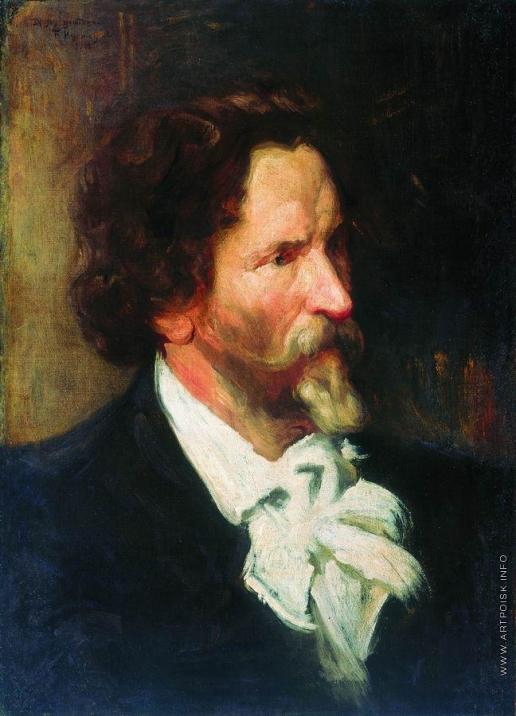 Кустодиев Б. М. Портрет И.Е.Репина