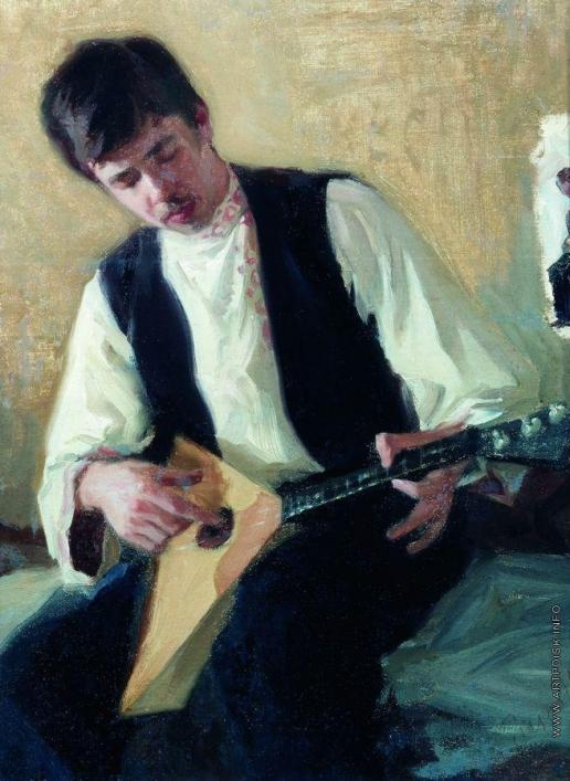 Кустодиев Б. М. Портрет И.С.Куликова
