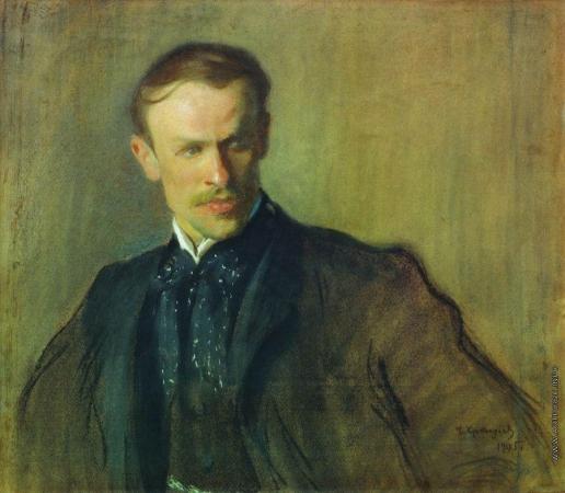 Кустодиев Б. М. Портрет Л.П.Альбрехта
