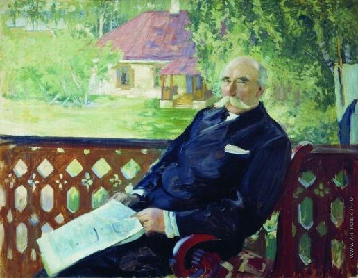 Кустодиев Б. М. Портрет Н.А.Подсосова