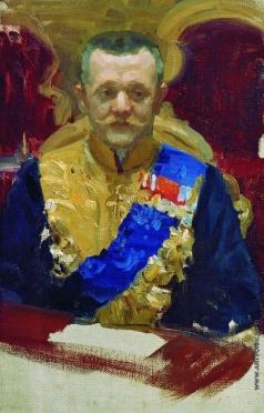 Кустодиев Б. М. Портрет Н.В.Муравьева. 1902-