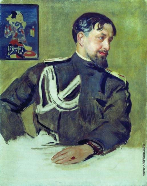 Кустодиев Б. М. Портрет Н.Д.Милиоти