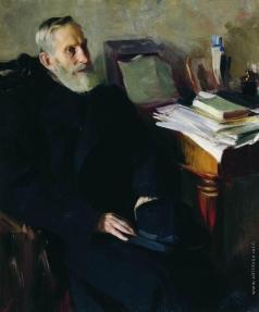 Кустодиев Б. М. Портрет Степана Лукича Никольского, дяди художника