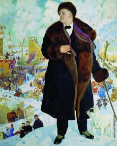 Кустодиев Б. М. Портрет Ф.И.Шаляпина