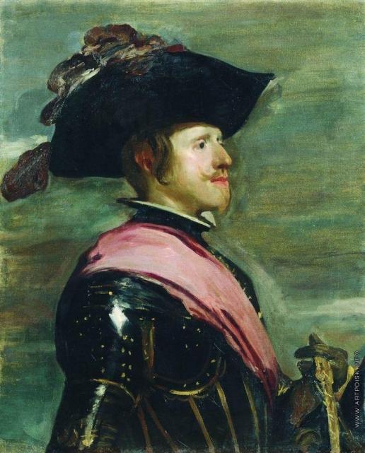 Кустодиев Б. М. Портрет Филиппа IV