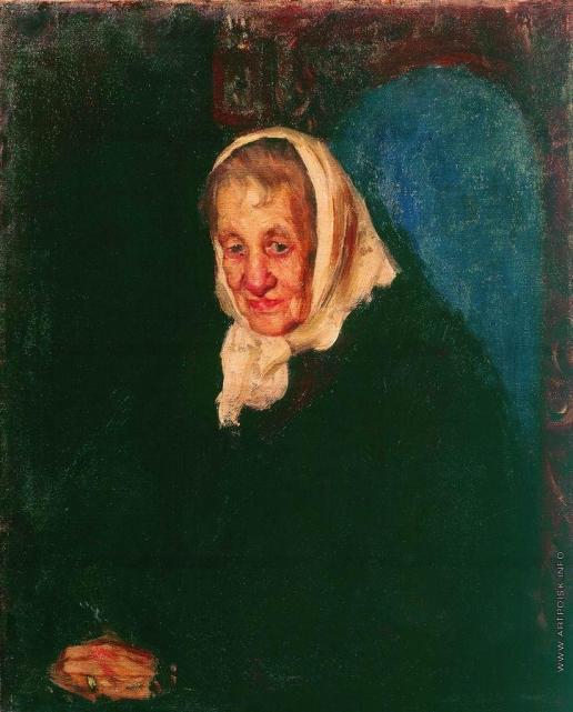 Кустодиев Б. М. Портрет Юлии Петровны Грек