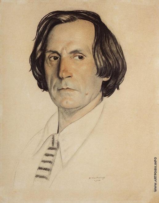 Кустодиев Б. М. Портрет артиста И.В.Ершова