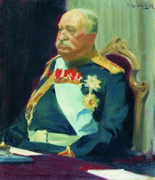 Кустодиев Б. М. Портрет графа Н.П. Игнатьева