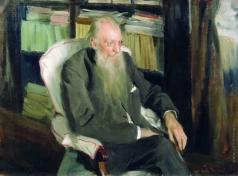 Кустодиев Б. М. Портрет писателя Д.Л.Мордовцева