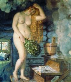 Кустодиев Б. М. Русская Венера