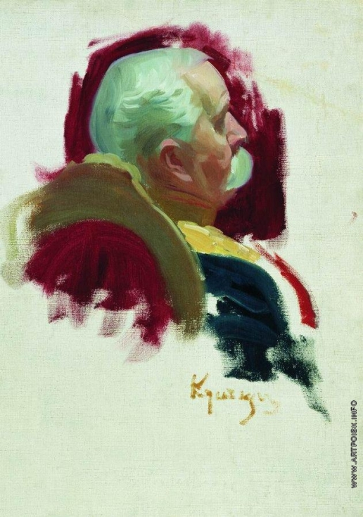 Кустодиев Б. М. Сенатор П.А. Сабуров
