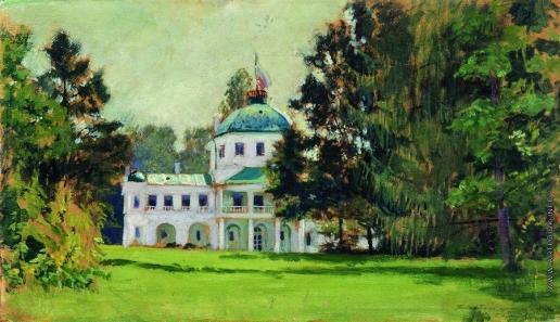 Кустодиев Б. М. Усадьба в парке