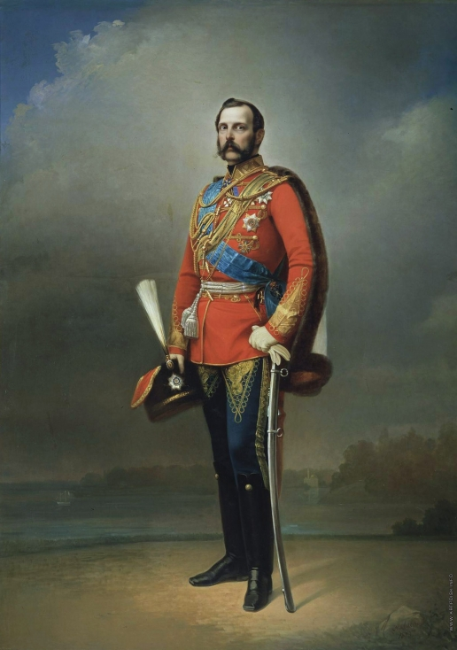 Лавров Н. А. Портрет императора Александра II