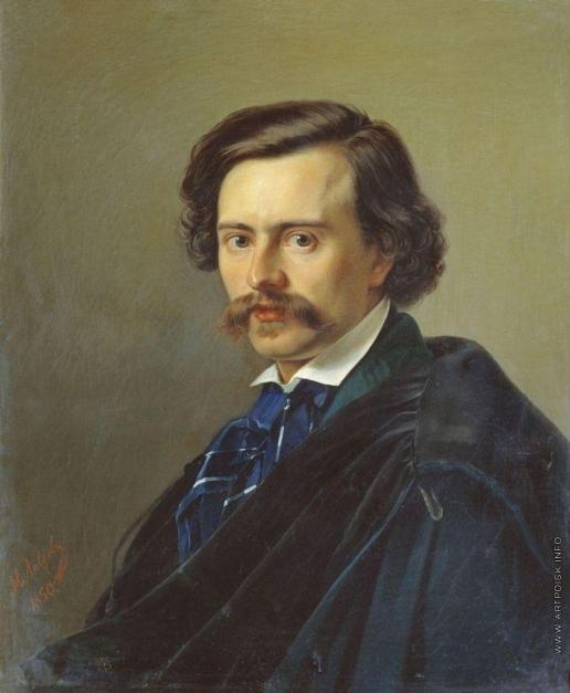 Лавров Н. А. Портрет художника Потапа Терентьевича Петровского