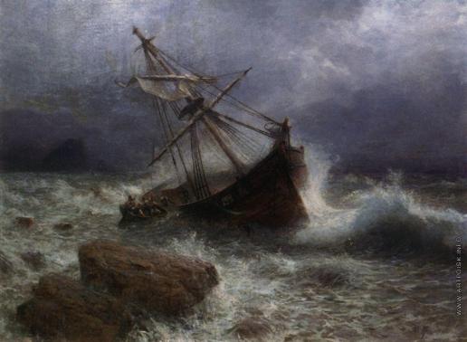 Лагорио Л. Ф. Буря на море