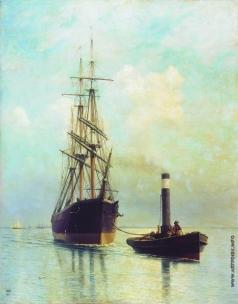 Лагорио Л. Ф. В Финском заливе