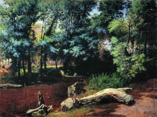 Лагорио Л. Ф. В чаще леса
