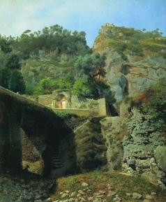 Лагорио Л. Ф. Вид Капо ди Монте в Сорренто