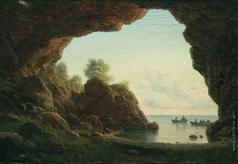Лагорио Л. Ф. Вид из грота на море