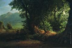 Лагорио Л. Ф. Вид на Понтийских болотах