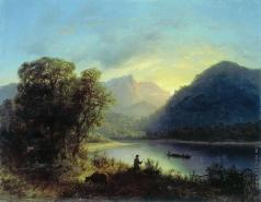 Лагорио Л. Ф. Горное озеро