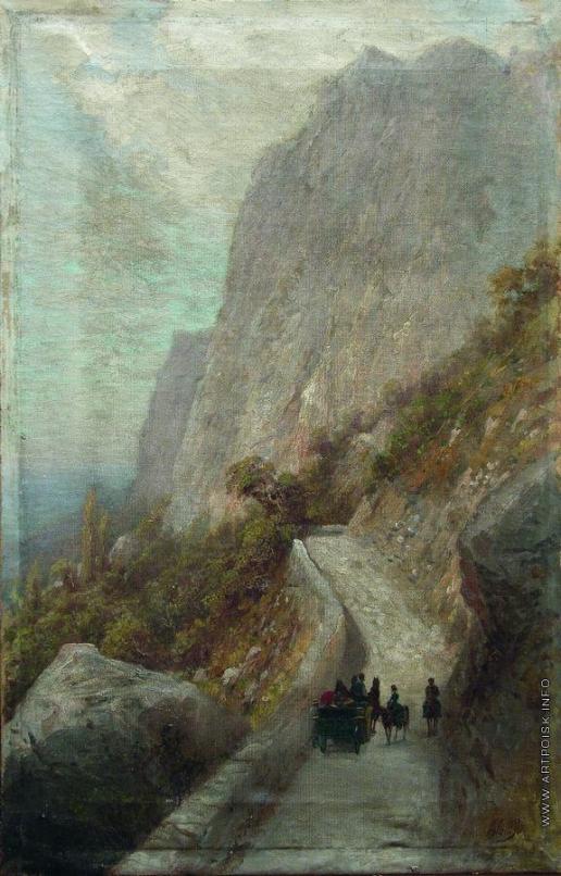 Лагорио Л. Ф. Горный пейзаж