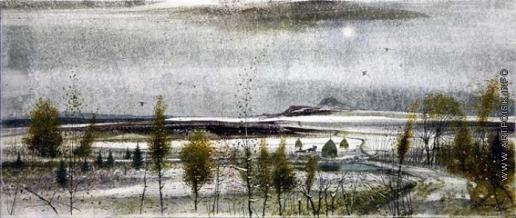 Абдуллин Р. Р. Горы. Начало зимы