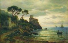 Лагорио Л. Ф. Итальянский пейзаж
