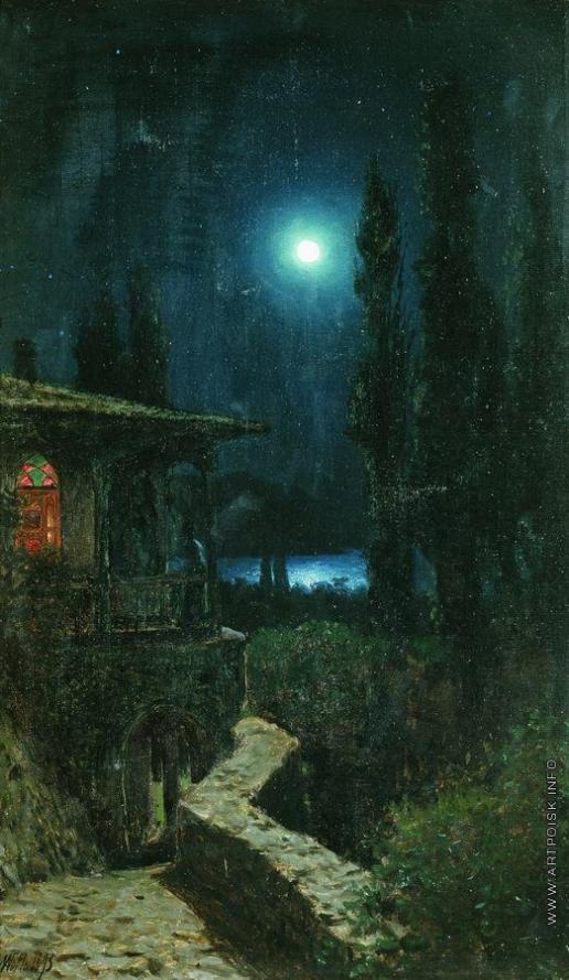 Лагорио Л. Ф. Крым ночью