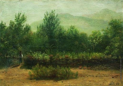 Лагорио Л. Ф. Крымский пейзаж