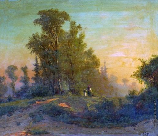Лагорио Л. Ф. Лесной пейзаж