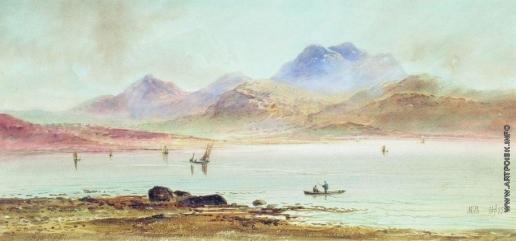 Лагорио Л. Ф. Лодки в бухте. У берегов Малой Азии