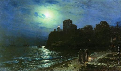 Лагорио Л. Ф. Лунная ночь на море