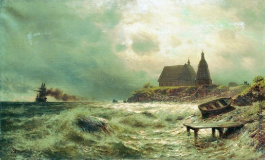 Лагорио Л. Ф. Море. Нормандский берег