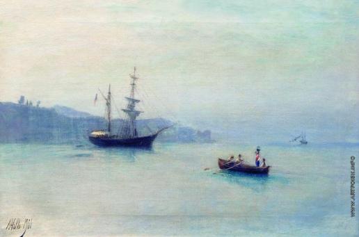 Лагорио Л. Ф. Морской пейзаж