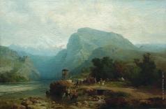 Лагорио Л. Ф. На Кавказе. Казачья застава